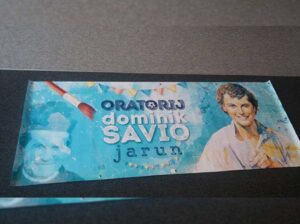 Dominik Savio banner