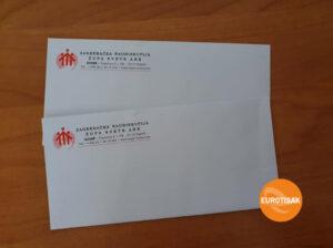 Tisak na kuverte